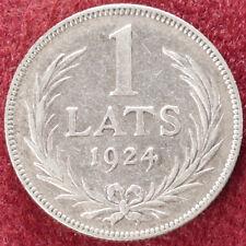 Letonia 1 lats 1924 (D2408)