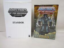 MATTEL MOTU MOTUC CLASSICS MASTERS OF THE UNIVERSE STANDOR STAN LEE W/ BOX NEW