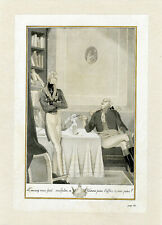 """L'AIGLON"" Gravure originale entoilée Carlos Saenz DE TEJADA 1932"
