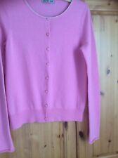 New Jigsaw Pink Embellished Cardigan. Size S. Cashmere Blend