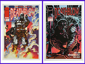 Deathblow Set Of Two #2 & #3 Image 1993-94 Flip-Book Cover FN & NM Comic Books