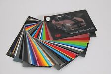 3M 1080 Vinyl Wrap Color Sample Swatch Booklet