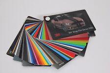 3M 1080 Vinyl Wrap Color Sample Swatch Booklet