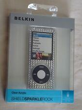 BELKIN  APPLE iPod NANO 4th Generation ~ Good Quality ~ BLING HARD CASE COVER