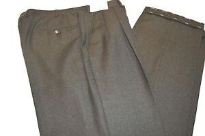 New BRIONI Mod Delta Trouser 100%Wool Dress Pant Size 46 Us 62 Eu (Cod 43)