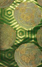 Vintage Japanese Kimono Silk Obi Kinran Fabric Quilting Patchwork