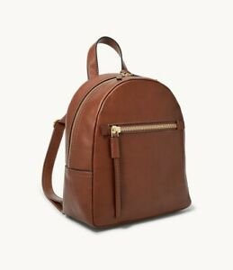 Fossil Leather Megan Backpack NWT