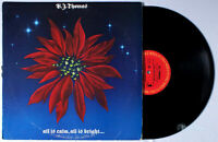 B.J. Thomas - All is Calm, is Bright (1985) PROMO Vinyl LP; BJ Christmas Holiday