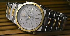 VERY RARE MEN'S SEIKO 7A38-7020 VINTAGE CHRONOGRAPH WATCH UHR MONTRE