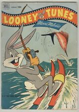 Looney Tunes #130 August 1952 VG Sport Fishing Cover