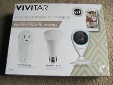 Brand New Vivitar Wi-Fi Smart Home /Office Remote Control System Kit IPC-560-OD