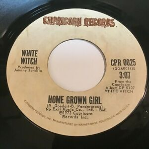 White Witch: Home Grown Girl / Help Me Lord 45