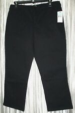 NEW *NINE WEST*  Skinny, Black, Selene, Cotton/Spandex, Capri  8 R