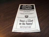 OCTOBER 1963 PRR PENNSYLVANIA RAILROAD FORM 55