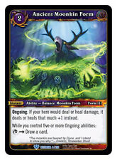 WOW WARCRAFT TCG BETRAYAL OF THE GUARDIAN : ANCIENT MOONKIN FORM X 3