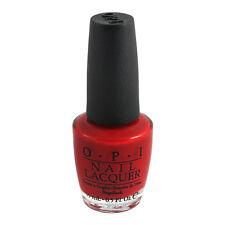 Opi Nail Polish Lacquer N25 Big Apple Red 0.5oz 15ml