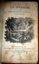 Maria Edgeworth, 1807 1st American Ed,  Irish Author, New Brunswick, NJ Imprint