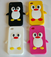 Penguin Style Silicone Case For iPhone 4G/4S - USA Seller