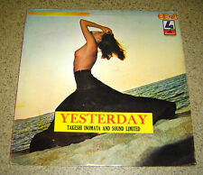 PHILIPPINES:TAKESHI INOMATA & SOUND LIMITED - Yesterday LP BEATLES Sexy NUDE OOP