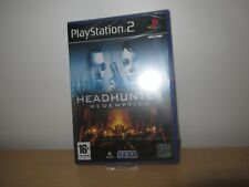 PS2 Headhunter: Redemption  UK Pal,  New & Sony Factory Sealed