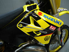 Suzuki RM125 RM250 2001-2014 Factory Yoshimura graphics + plastics + seat cover