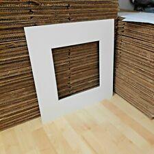 5 x IKEA RIBBA Big Square Card Mounts For Large 50cm x 50cm Box Frame