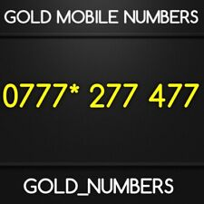 EASY VIP BUSINESS IPHONE 0777 NUMBER GOLD NUMBER 0777*277477