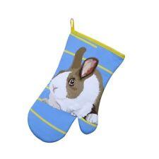 Leslie Gerry LGGAU031 Single Gauntlet Oven Glove Rabbit