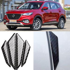 For MG ZS HS GS Car Side Door Edge Guard Bumper Trim Protector carbon fibre