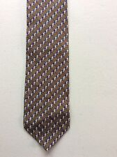 GIORGIO ARMANI Vintage fashion tie 100% Silk Made in Italy