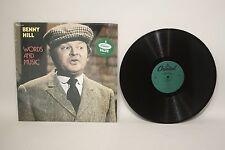 Benny Hill- Words and Music- Vinyl LP- SN-16139- B630