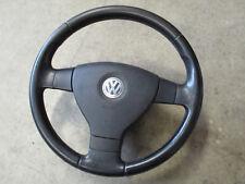 3-Speichen Lederlenkrad VW Passat 3C Golf 5 1K0419091BR Lenkrad schwarz