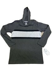 French Toast Boys Hooded Pullover Charcoal Gray Size 14/16