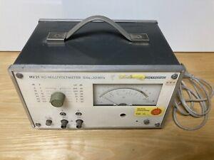 Millivoltmeter MV 21 Präcitronic