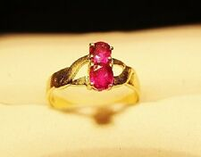 ESTATE SALE! BEAUTIFUL 14K GOLD & RUBY LADIES RING
