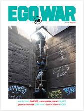 EGOWAR SUBWAY MAGAZINE - ISSUE 16 - STREET ART/PHOTOGRAPHY/GRAFFITI MAGAZINE