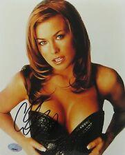 Carmen Electra Signed Sexy Authentic Autographed 8x10 Photo (PSA/DNA) #J64847