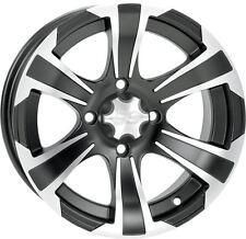 ITP SS312 Black 12X7 4/156 4+3 Alloy Wheel