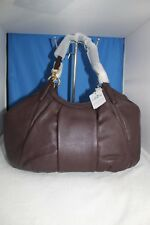 COACH NWT Pebble Leather Lily Shoulder Bag F12155 Oxblood