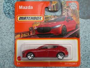 Matchbox 2021 #000/100 '19 MAZDA 3 red @C New Casting 2021