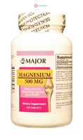McK Major Magnesium Supplement 500 mg Strength Tablet 100 per Bottle