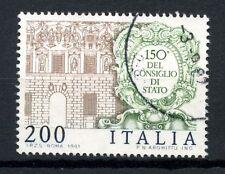 ITALIA 1981 SG # 1729 del Consiglio di Stato utilizzati #A 40457