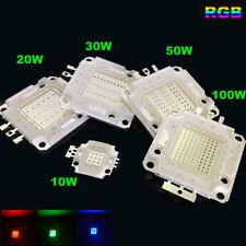 Rgb LED CHIP COB 10W 20W 30W 50W 100W para las Bombillas Foco SMD Multi-Color Nuevo
