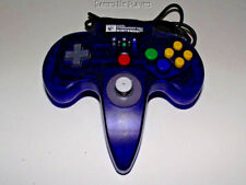 Hori Commander Nintendo 64 N64 Clear Midnight Blue Controller Refurbed Toggle