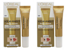 2 Loreal Age Re-perfect Pro Calcium De-crinkling Eye & Lip Contour Cream L'Oreal