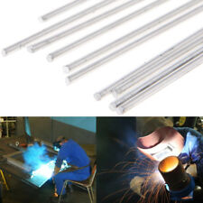 10Pcs 2.4x450mm Hypothermia Low Temperature Aluminium Welding Rod Wire Electrode