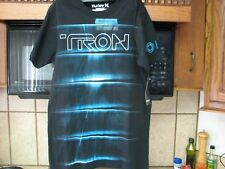 Tron Sequel Disney sci fi movie 2010 t shirt by Hurley Glow in the dark new nwt