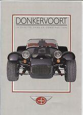 N°5827 / dépliant DONKERVOORT  deutsch text   1990