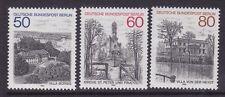 Germany Berlin 9N476-78 MNH 1982 Scenic Views Set of Church & Villas
