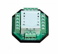 Centralina automazione motori tapparelle per comandi singoli centralizzati 230v